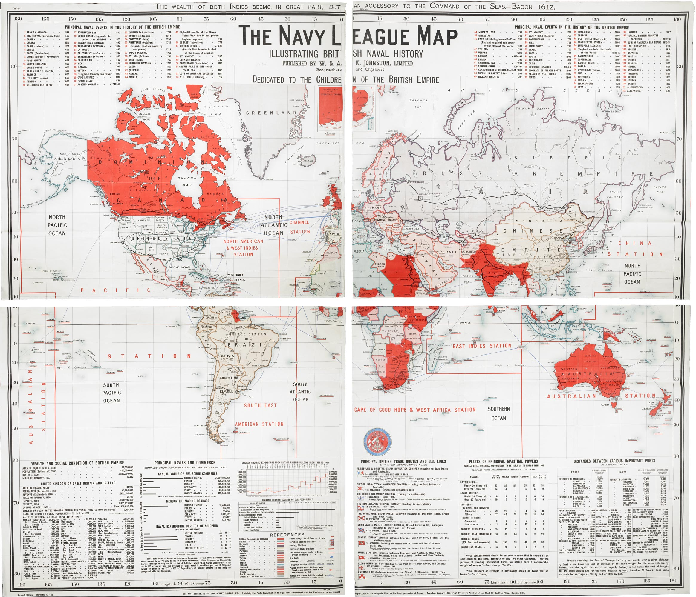 The Navy League map (Maps 950.(136.))