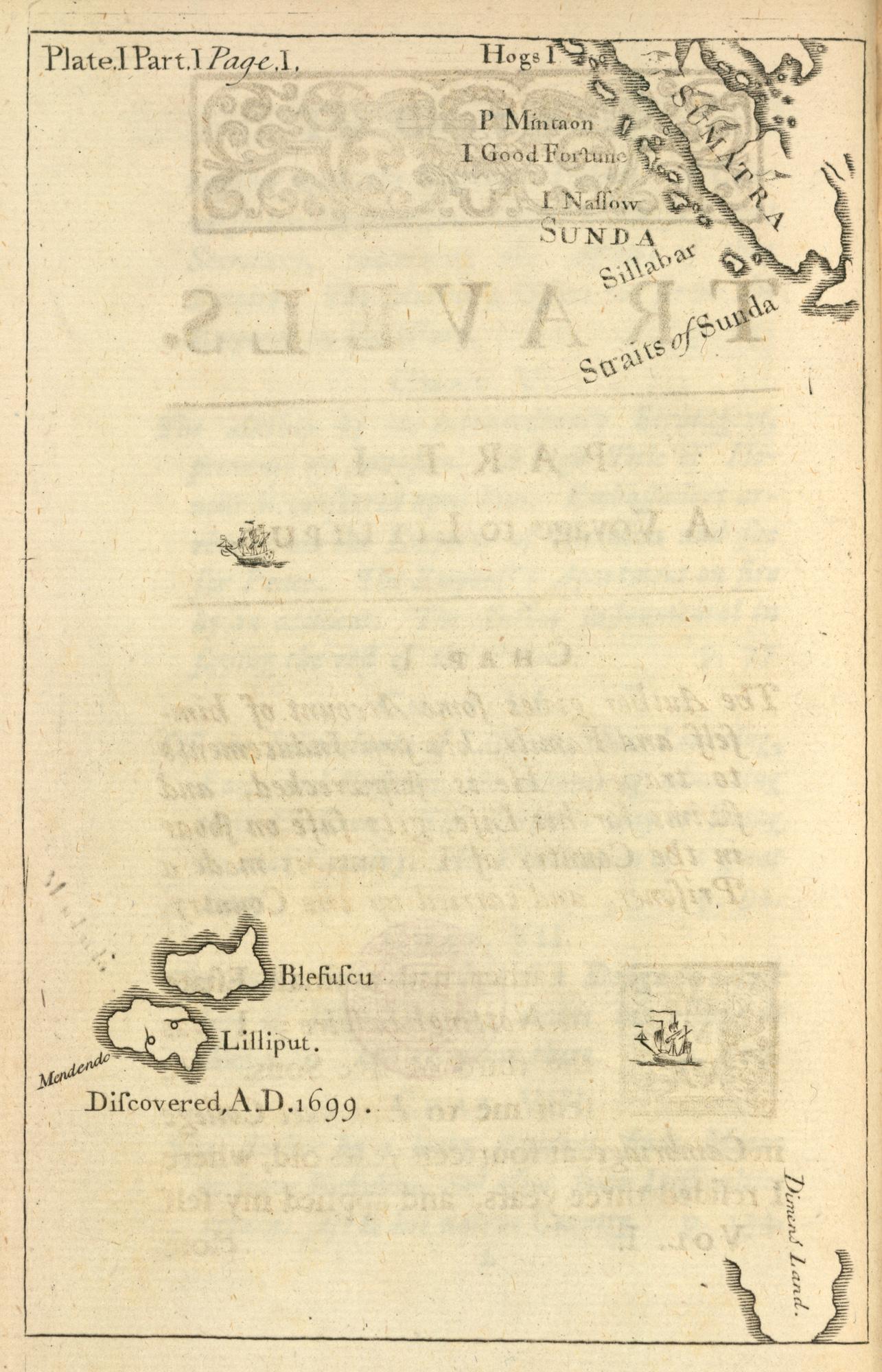 Map of Lilliput and Blefuscu (12612.f.10.)