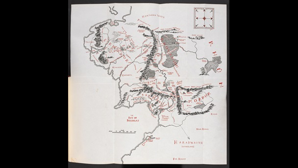 Map of the Middle Earth (NNN.7521.)