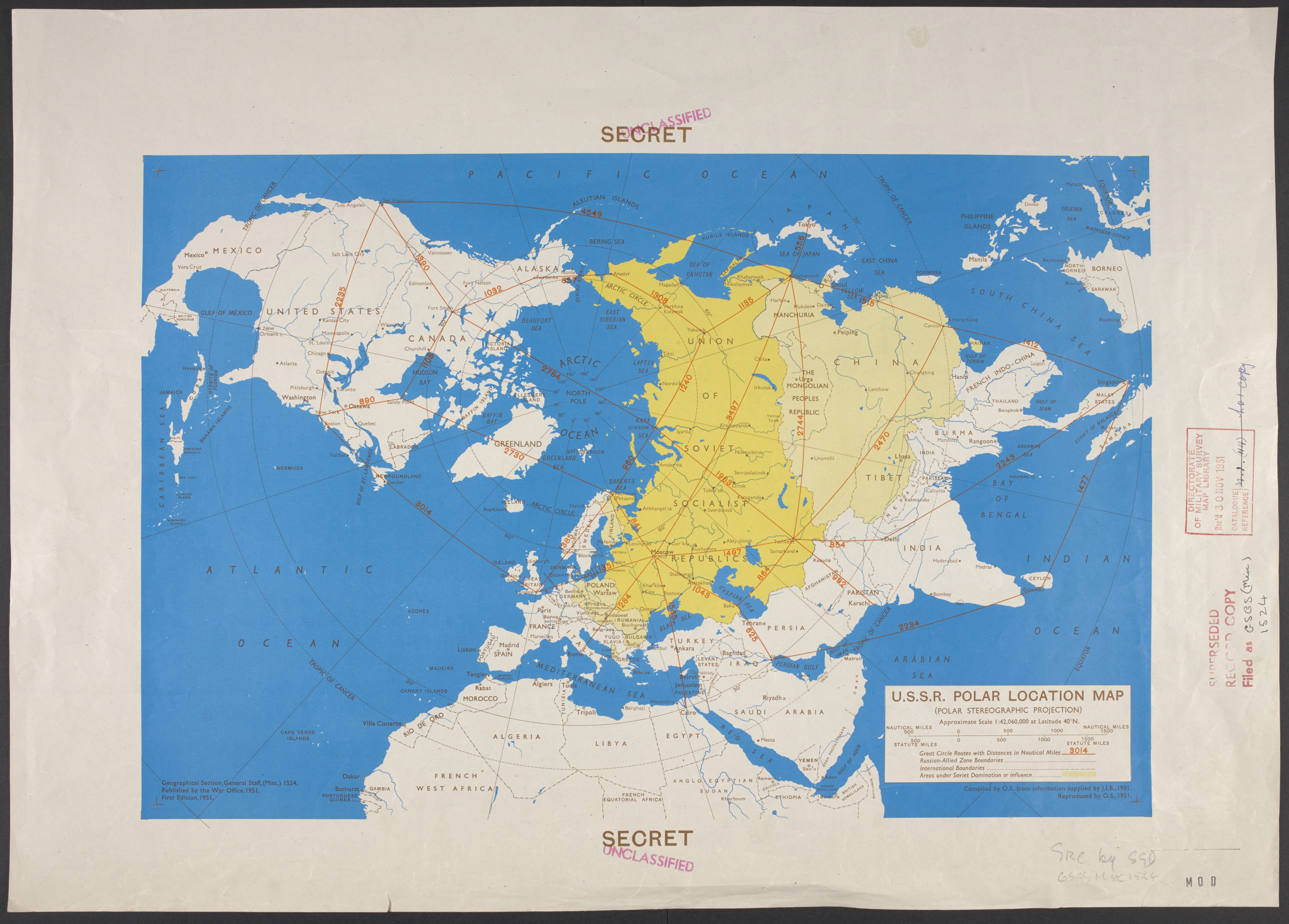 The map of the world in the 20th century - The British Library
