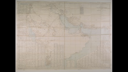 Hunter's Map of Arabia