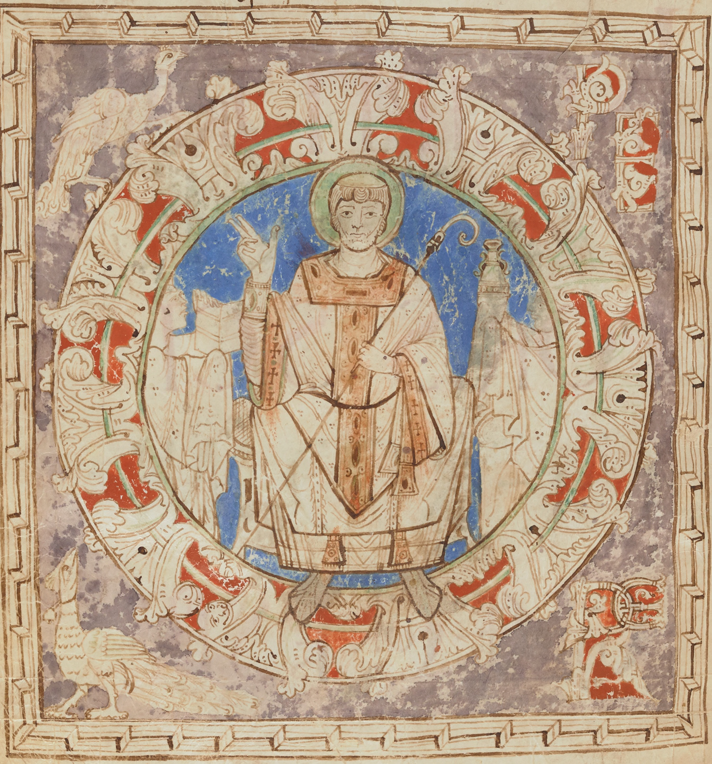 Saints in medieval manuscripts - The British Library