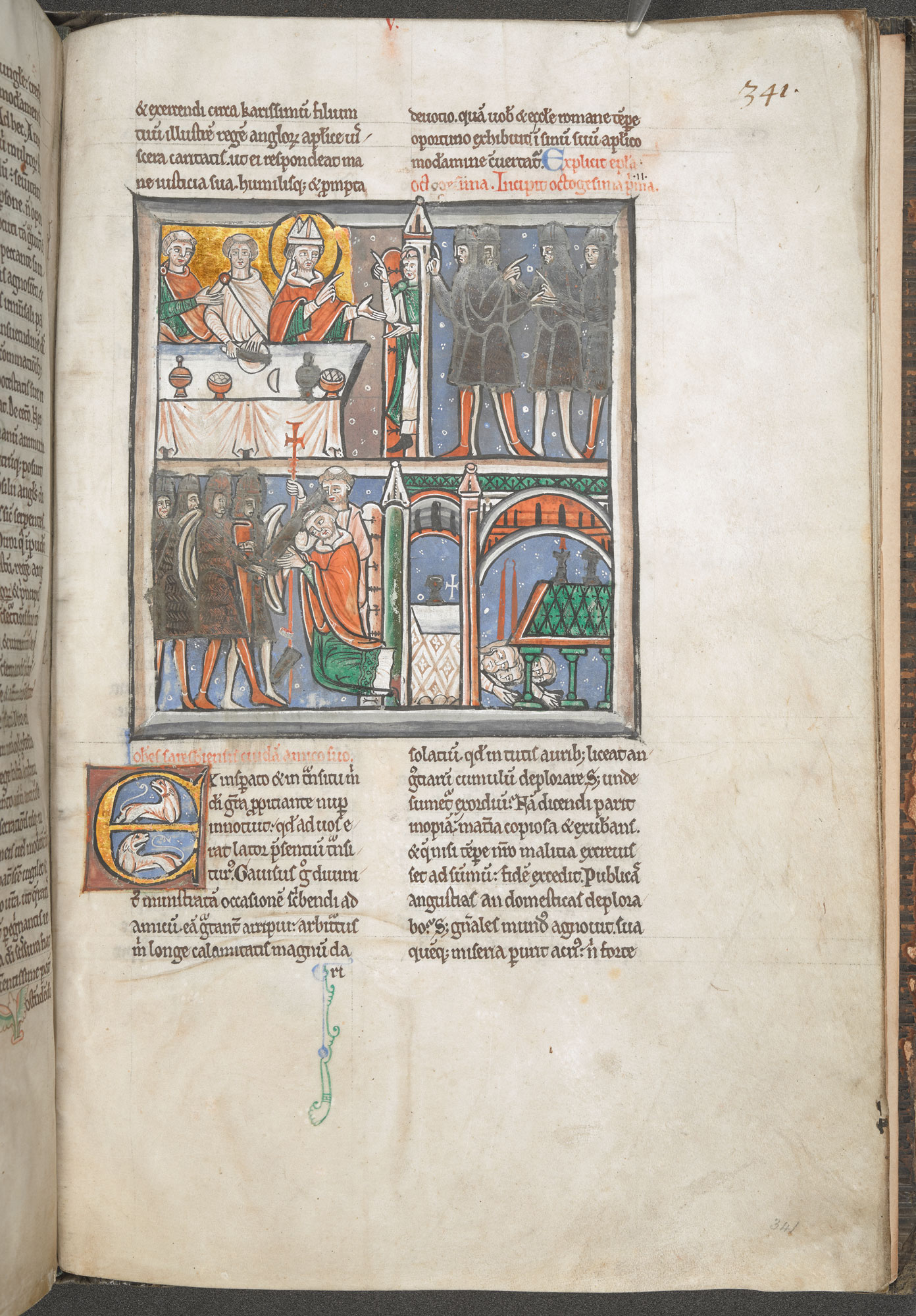 Cotton MS Claudius B II, f. 341r