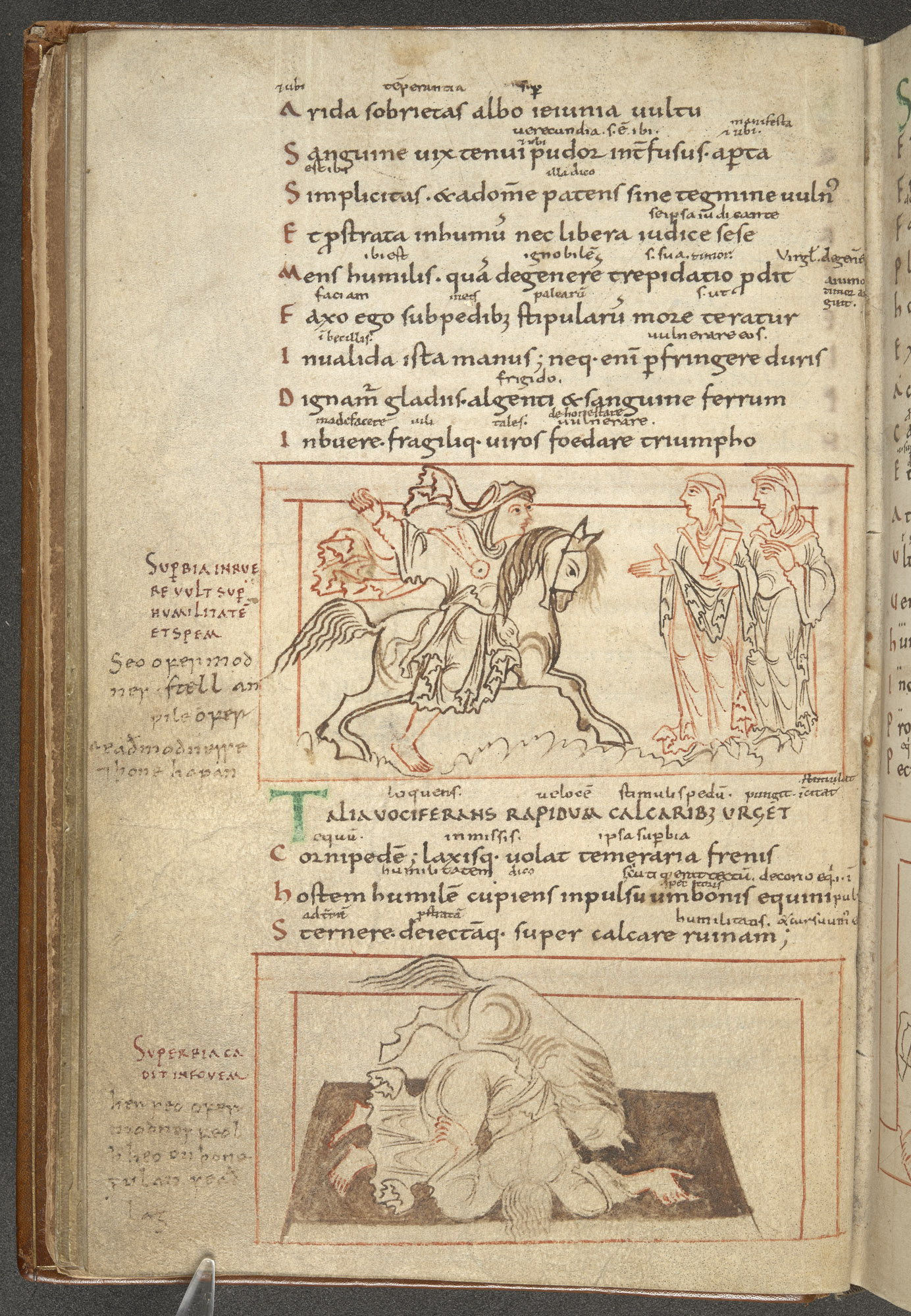 Cotton MS Cleopatra C VIII, f. 15v