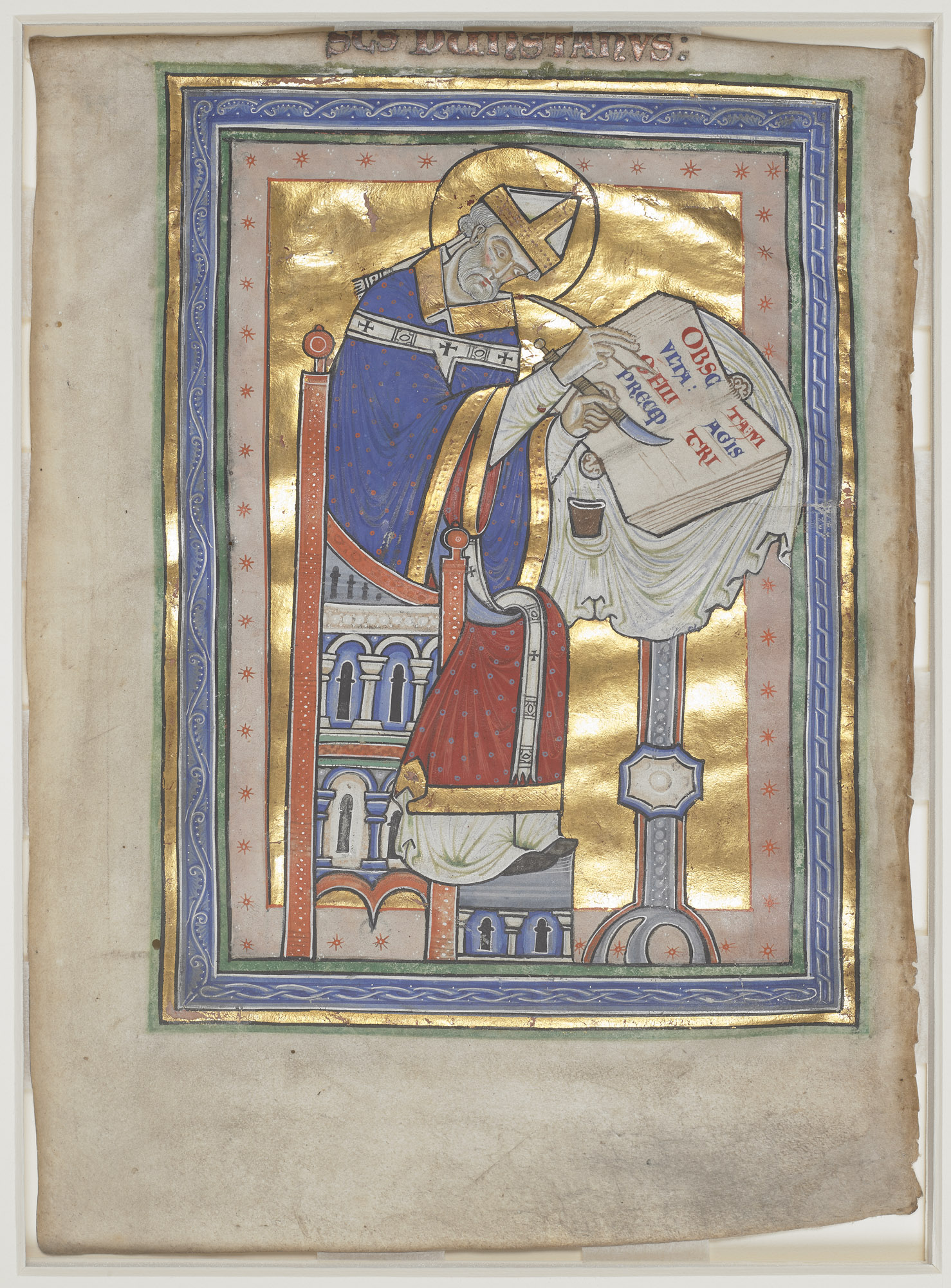Royal MS 10 A XIII/1, f. 2v