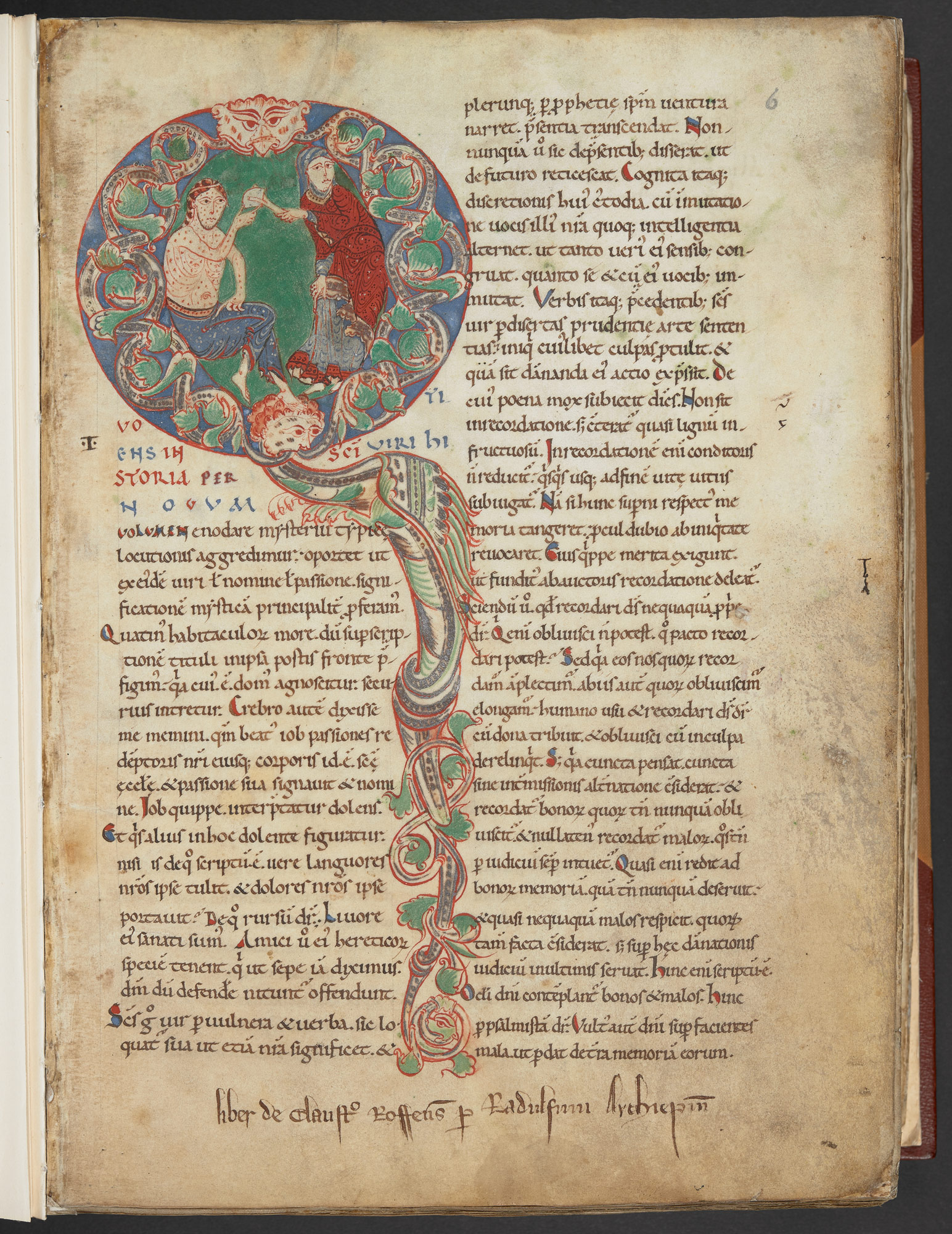 Royal MS 6 C VI, f. 6r