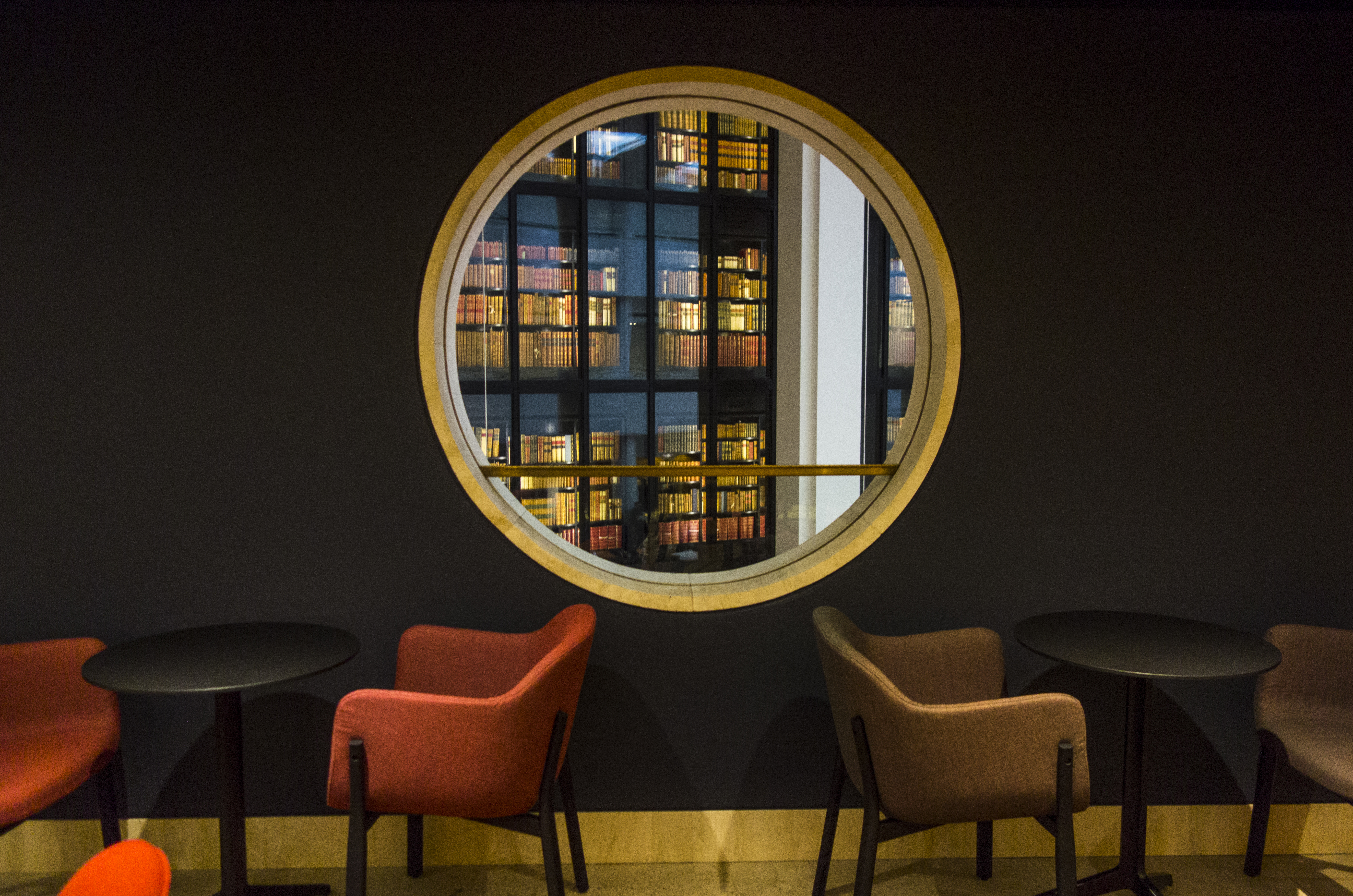 The Members' Bar at the British Library credit Tony Antoniou