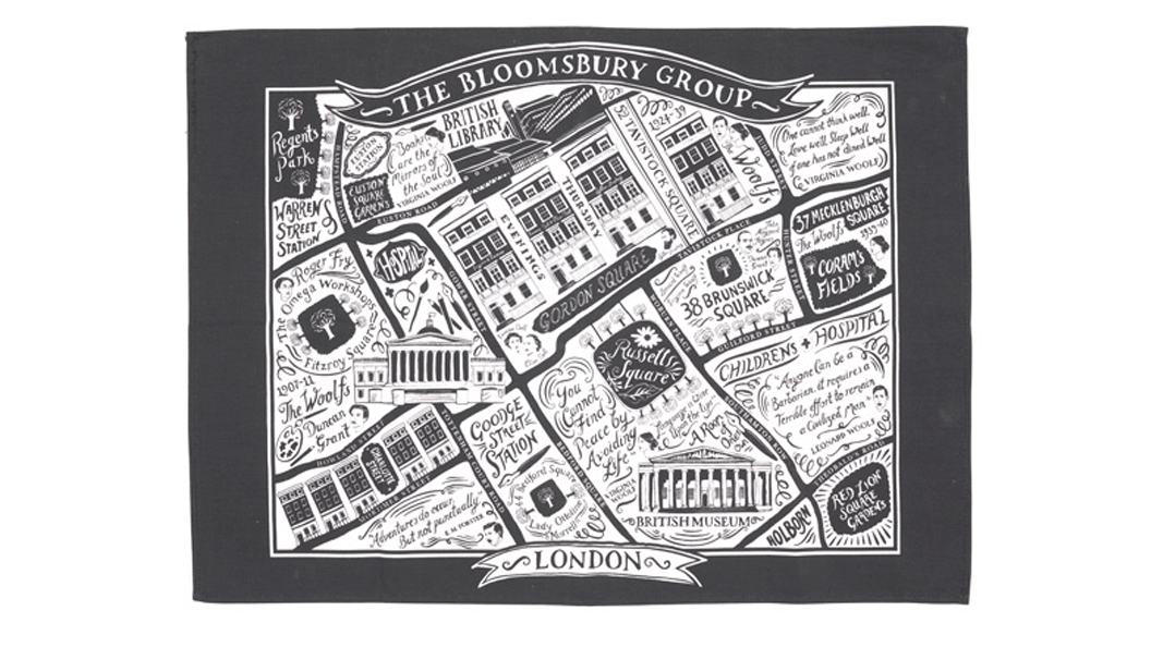 Bloomsbury Tea Towel