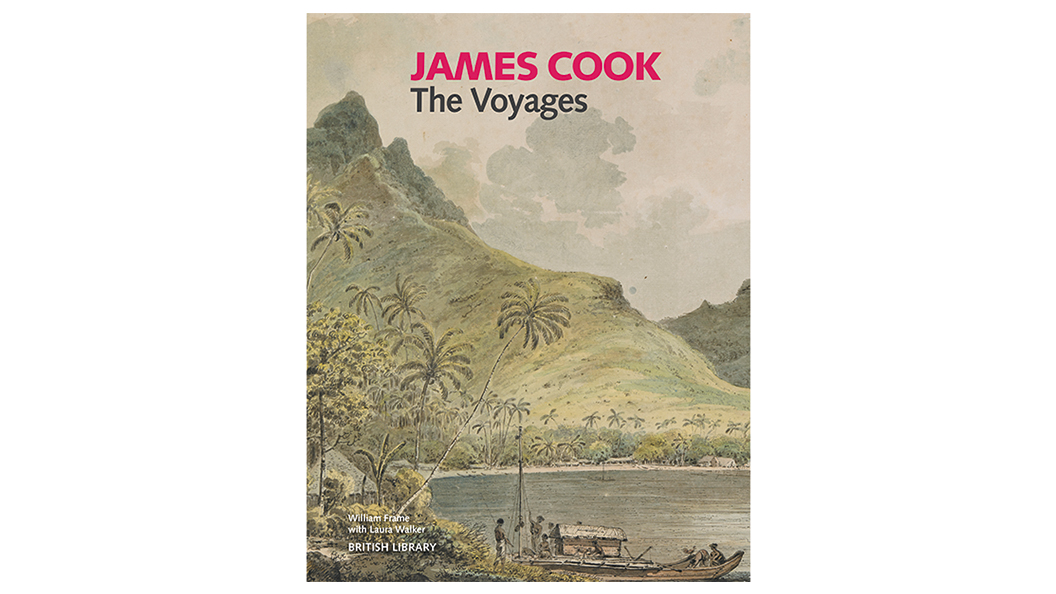 James Cook: The Voyages exhibition book