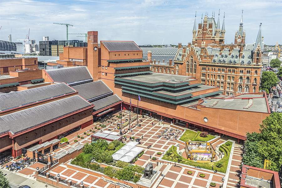 British Library St Pancras building