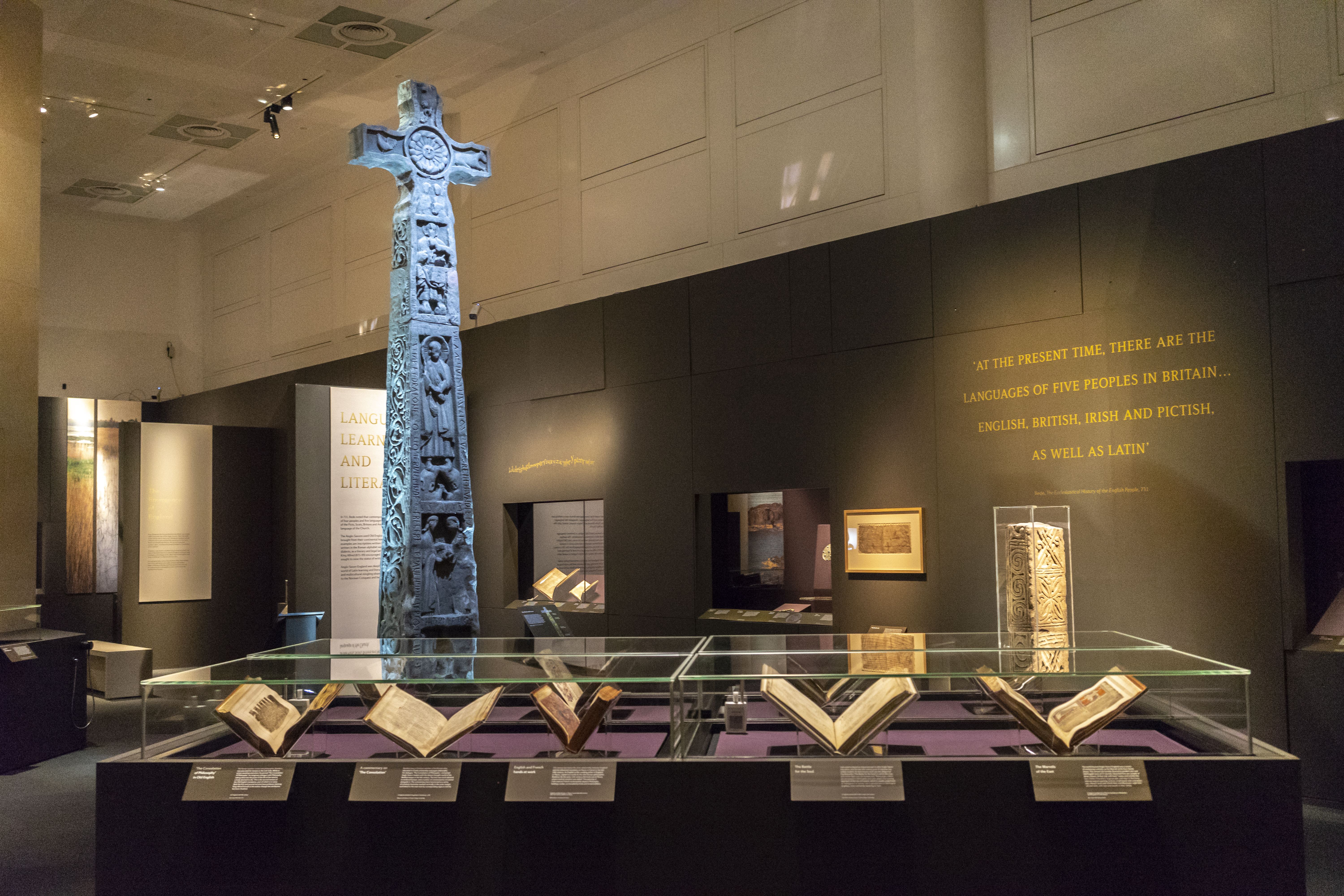 Anglo-Saxon Kingdoms exhibition photo Tony Antoniou