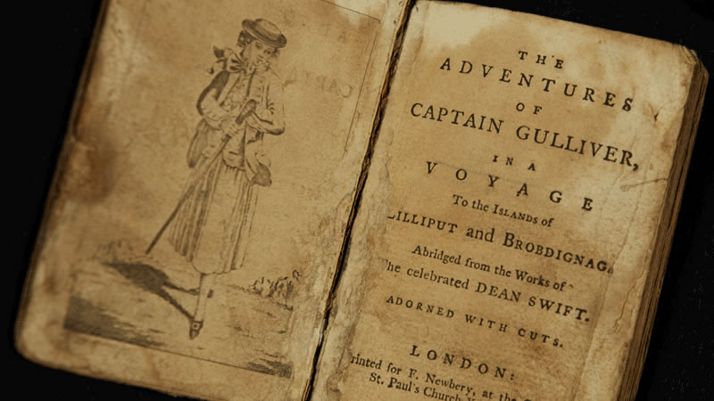 The Adventures of Captain Gulliver title page