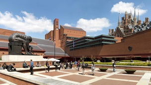 British Library, St Pancras