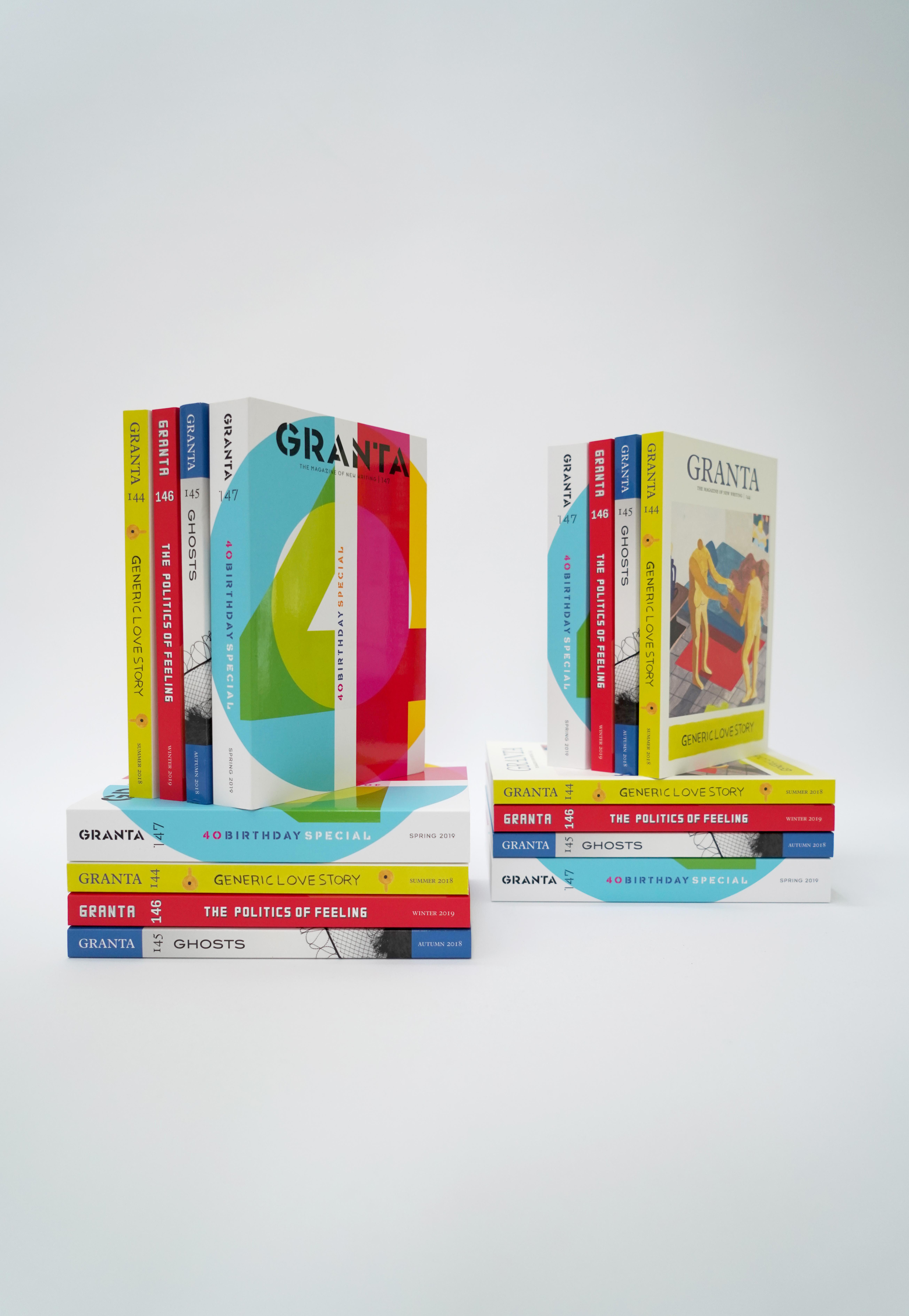 Granta 40th editions
