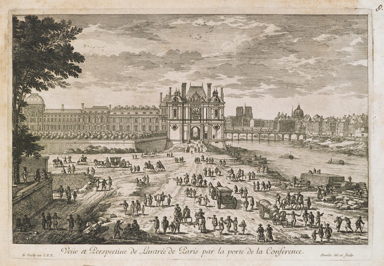 A view of the Porte de la Conference in Paris