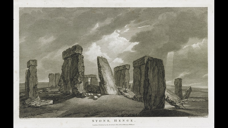 William Byrne (1743-1805) and Thomas Medland (active 1780-1833) after Thomas Hearne (1744 - 1817), Stone Henge, published London, 1 February 1786