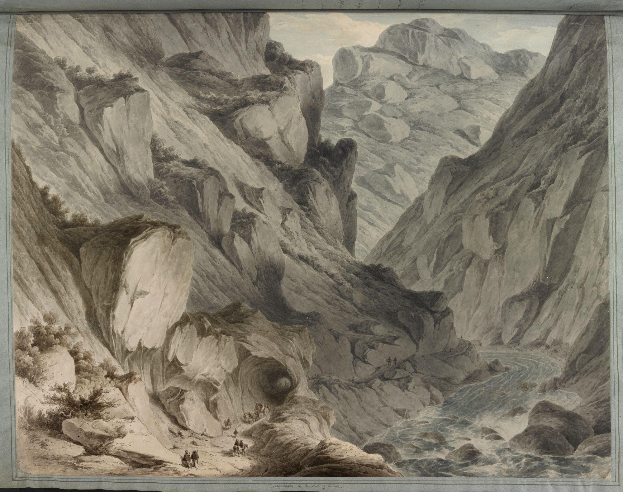 The Pass of Derial, by Sir Robert Ker Porter.