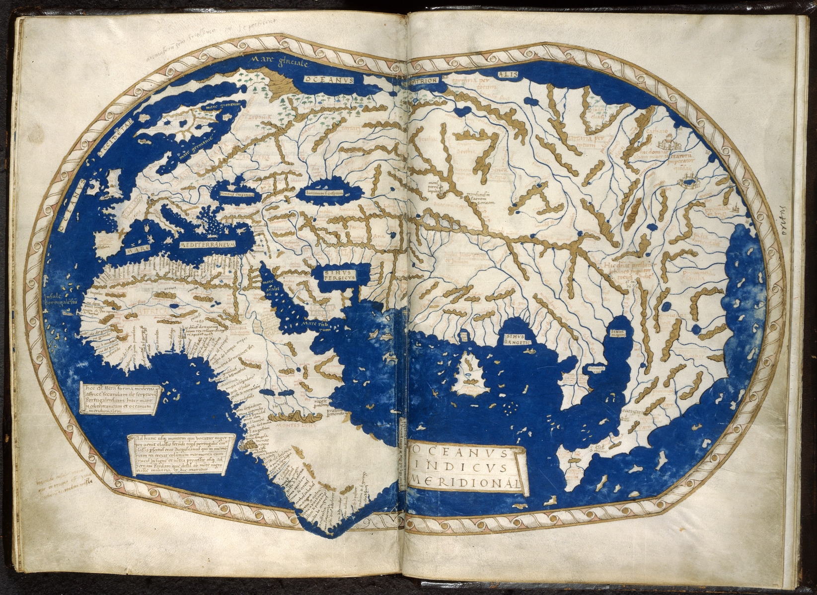 Map of the World by Henricus Martellus