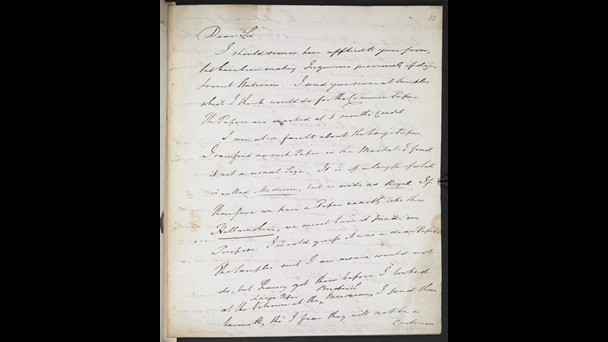 Letters to Joseph Hunter from John Bowyer Nichols