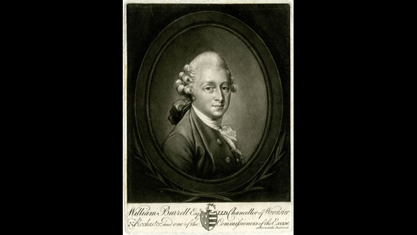 Portrait of William Burrell by Robert Laurie (after Richard Cosway).
