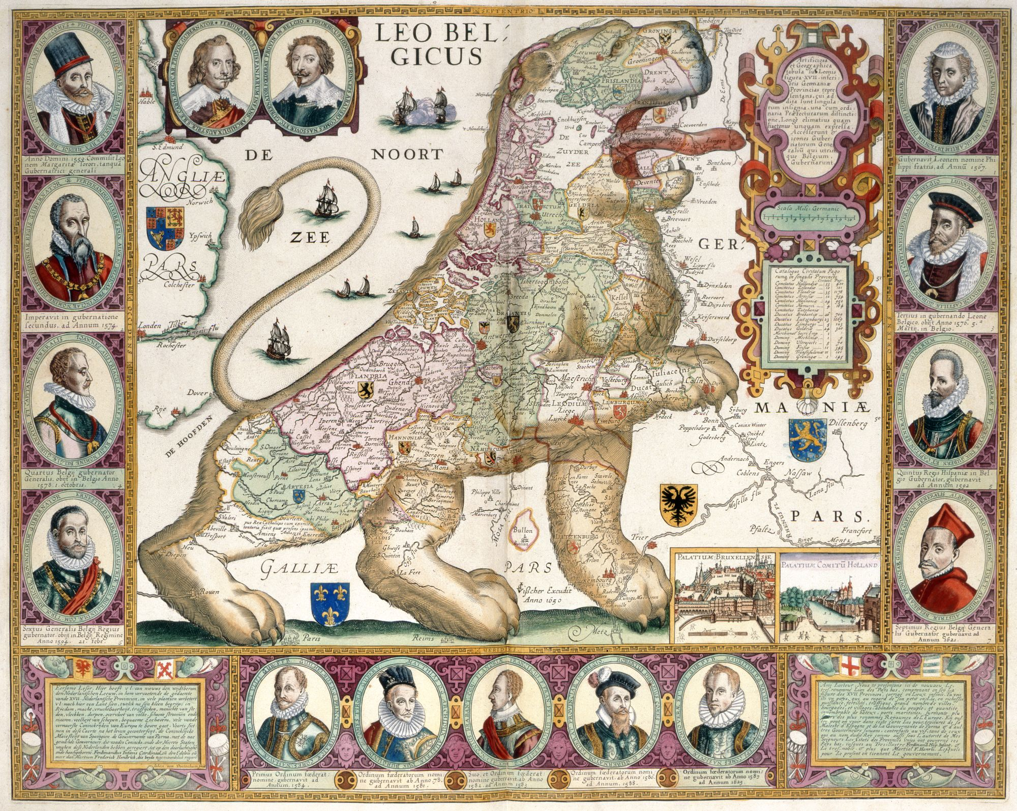 The Lion of the Low Countries, by Johannes van Deutecum Jr.