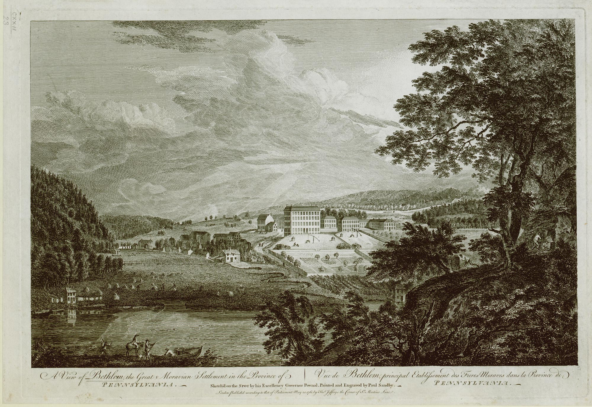 A View of Bethlem (Maps K.Top.122.23)
