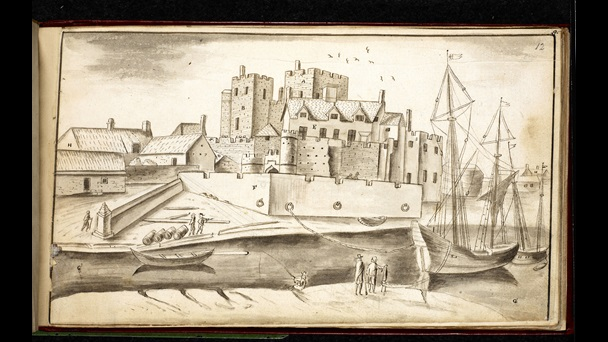 Castle Rushen and Castletown.