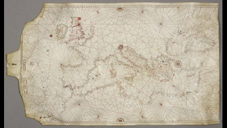 1470 map of the Aegean.
