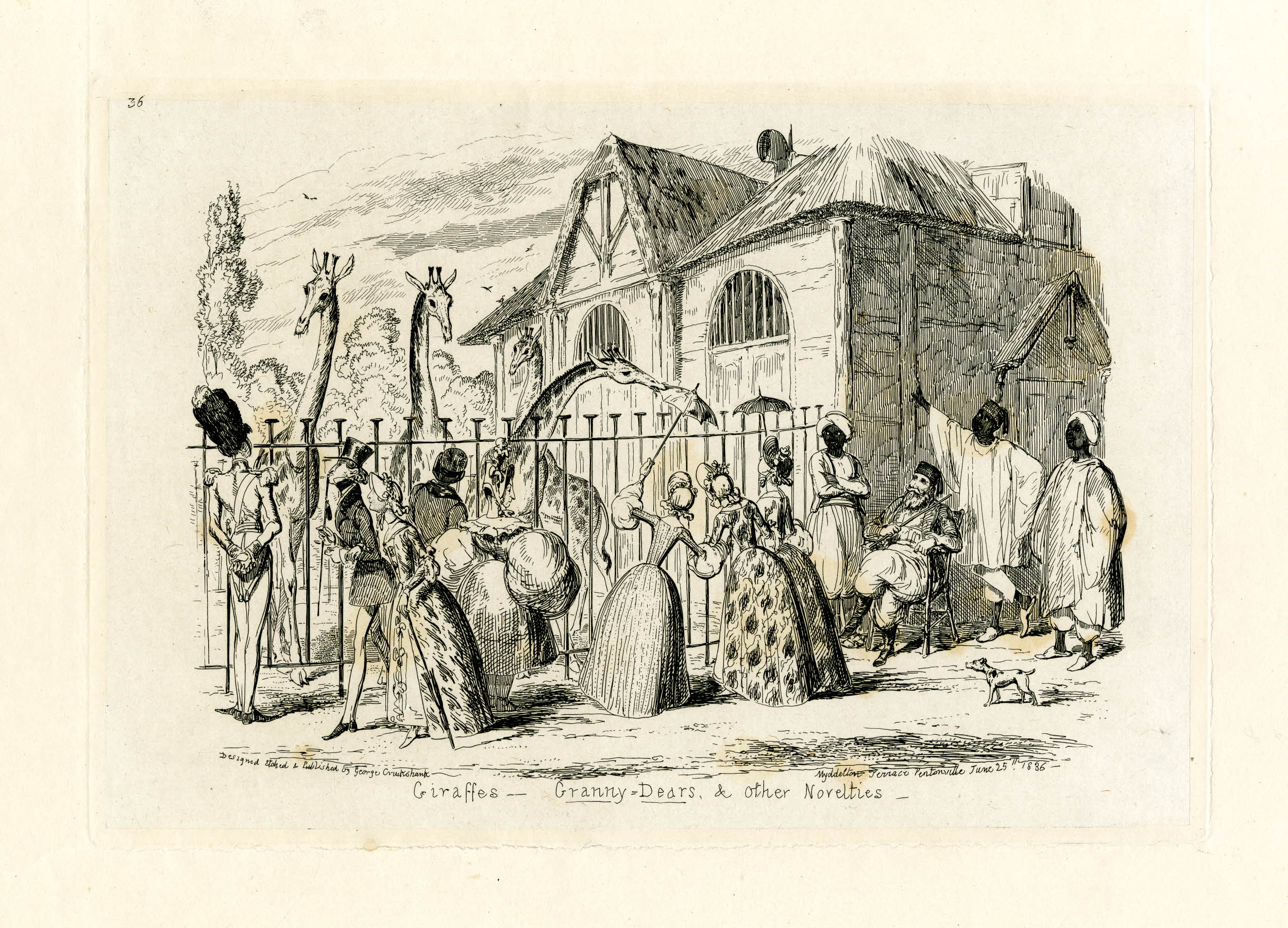 A delightful promenade: The early topography of London Zoo