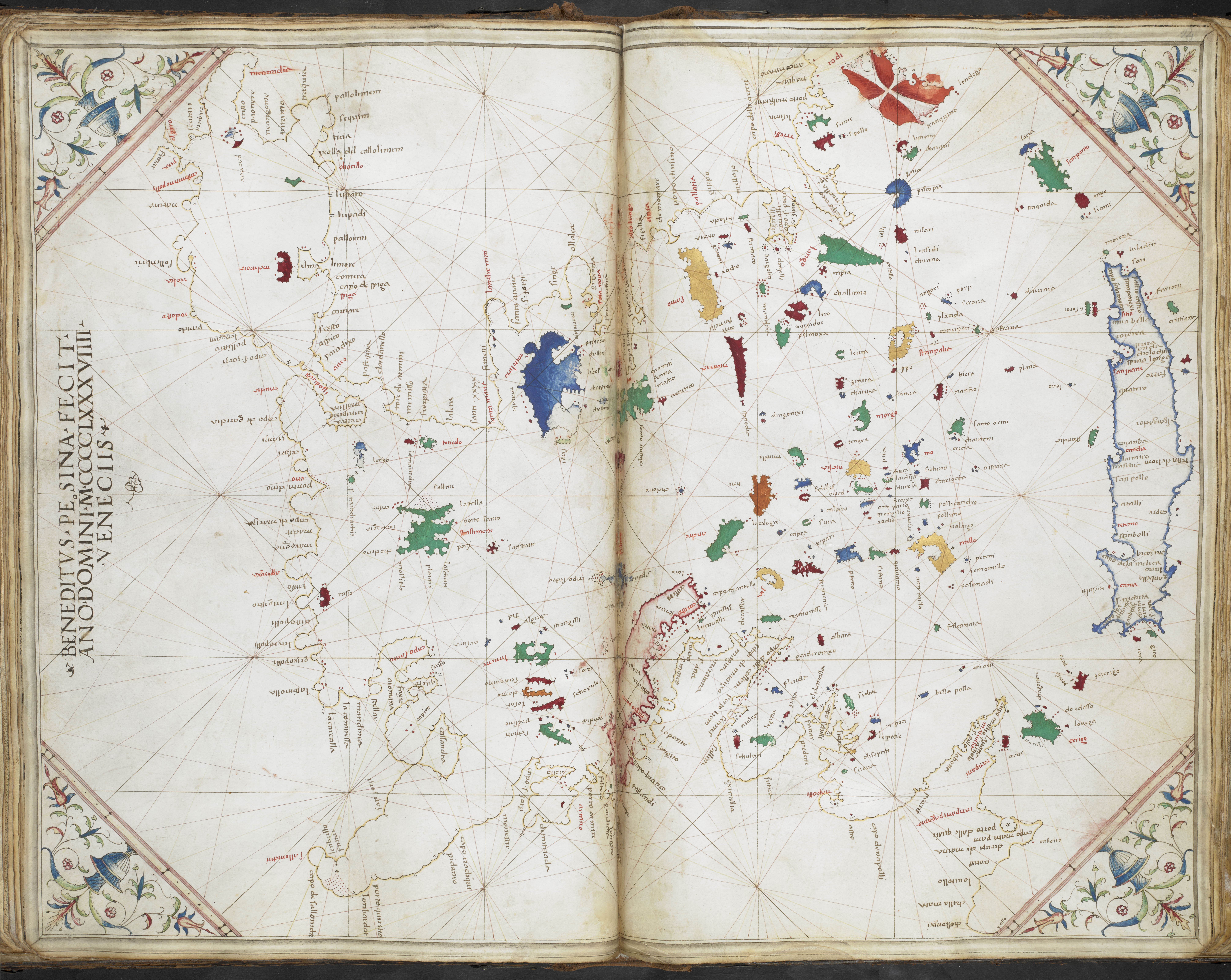 Maps Of The 15th Century British Library Picturing Places The