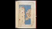 Islamic map of the western Mediterranean