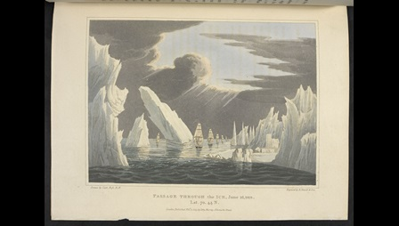 Passage Through the Ice, by Robert Havell after Sir John Ross.