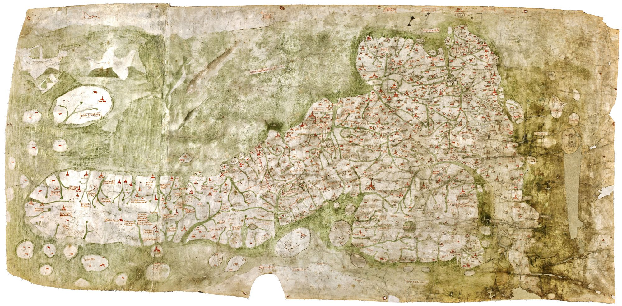 Medieval maps of regions | British Library - Picturing Places - The ...