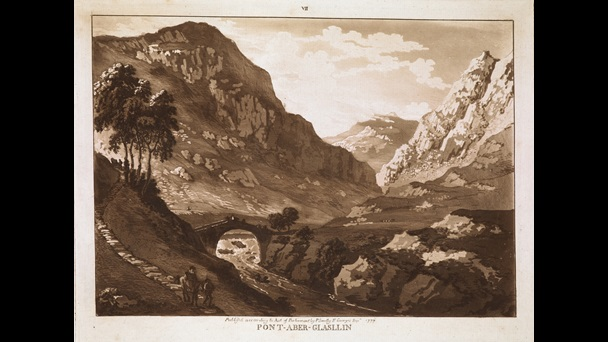 Illustration of a valley
