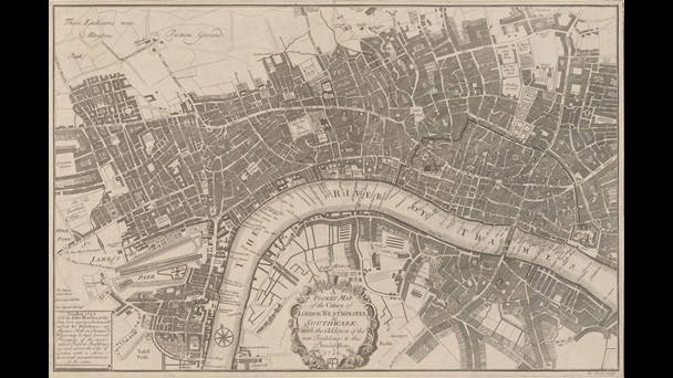 Thomas Bowles' Pocket Map of London