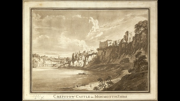 View of Chepstow Castle