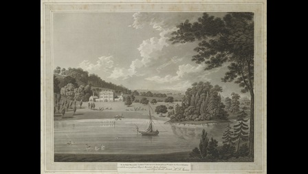 View of Himley, by Thomas Cartwright.