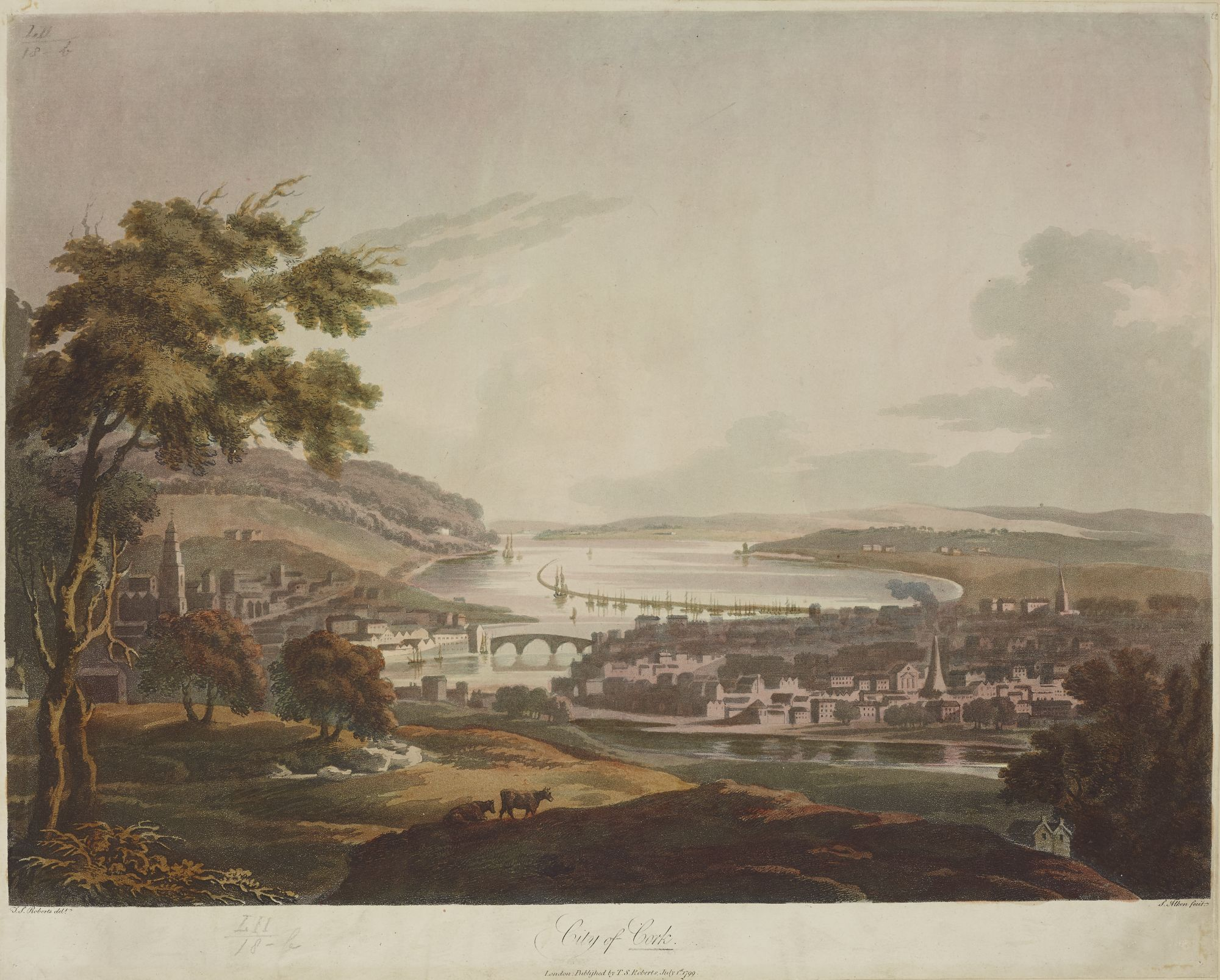 City of Cork, by Samuel Alken after Thomas Sautelle Roberts.