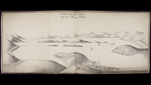 A View of the Bay of Bantry upon the S.W. part of Ireland, by Thomas Phillips.