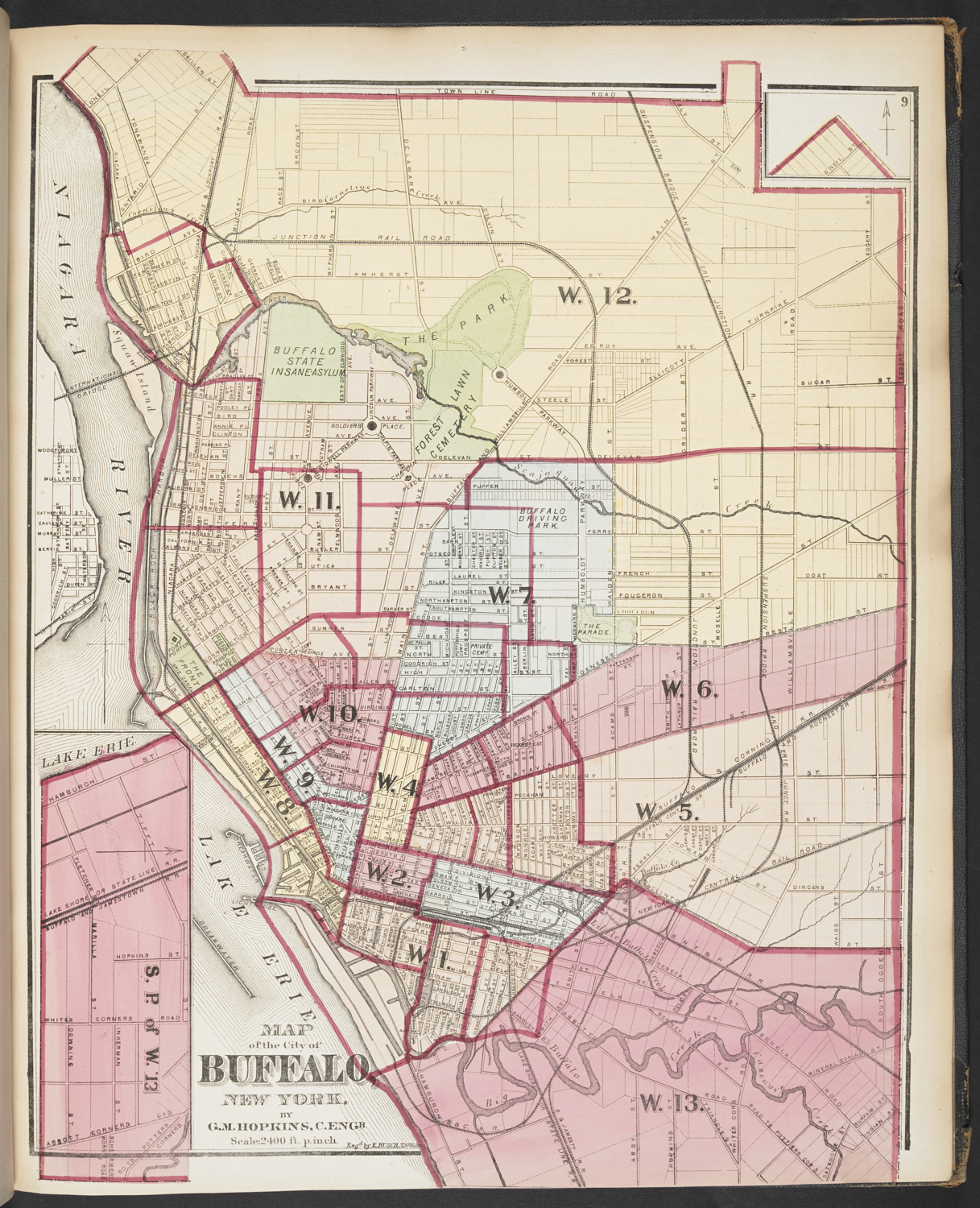 Atlas of the city of Buffalo | British Liry | Picturing Places ... on