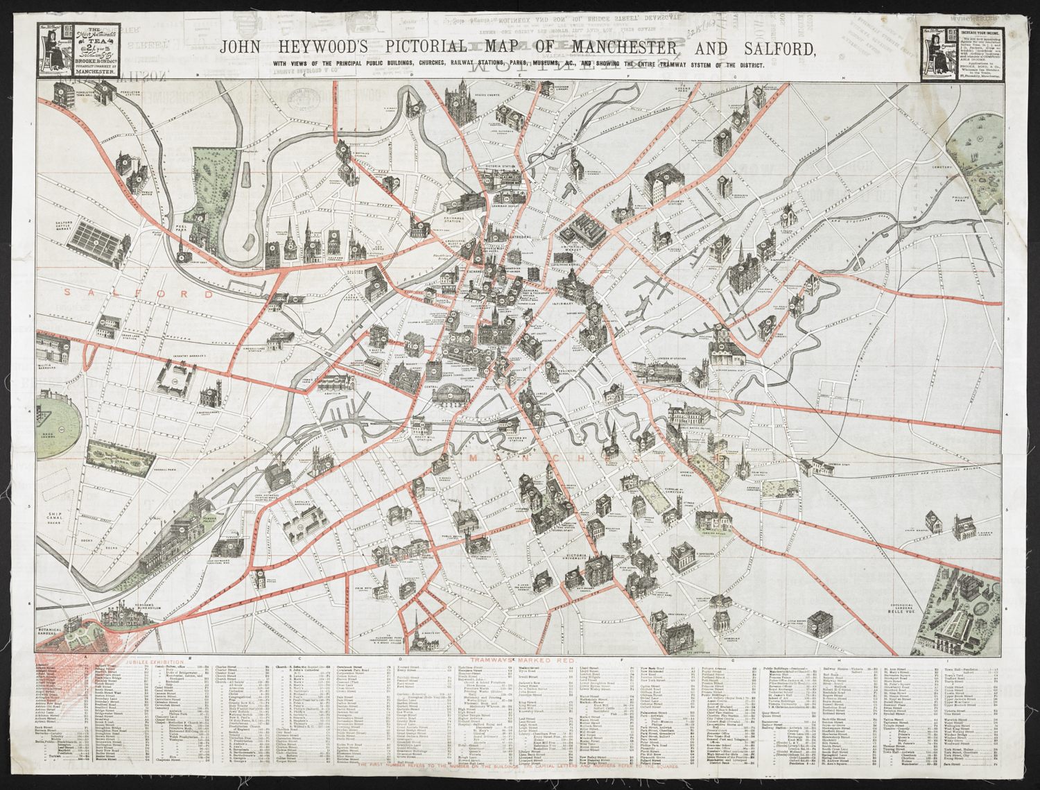 Industry and Empire: the town plans of the 19th century
