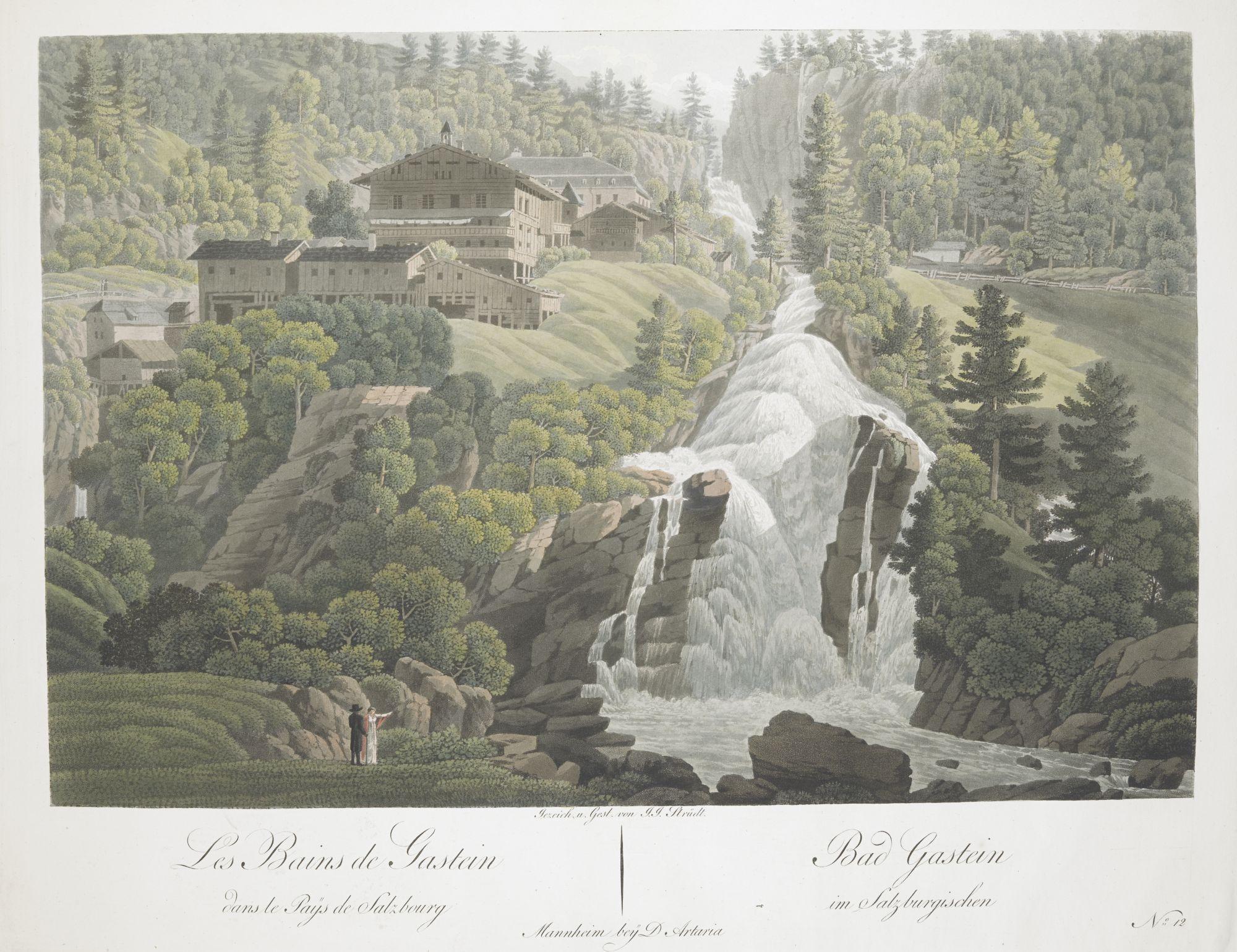 A view of Bad Gastein, Austria