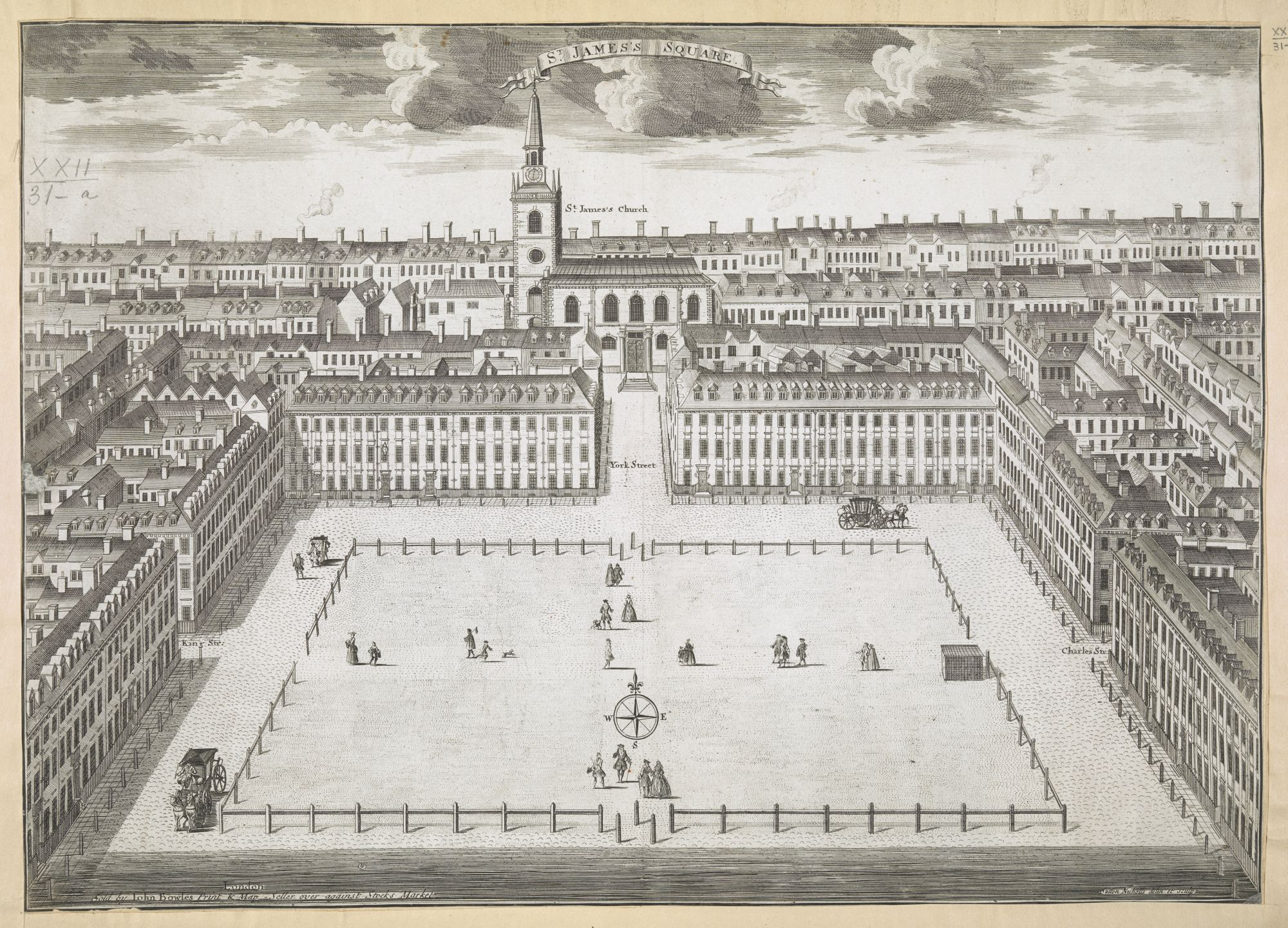 St James' Square, by Sutton Nicholls.