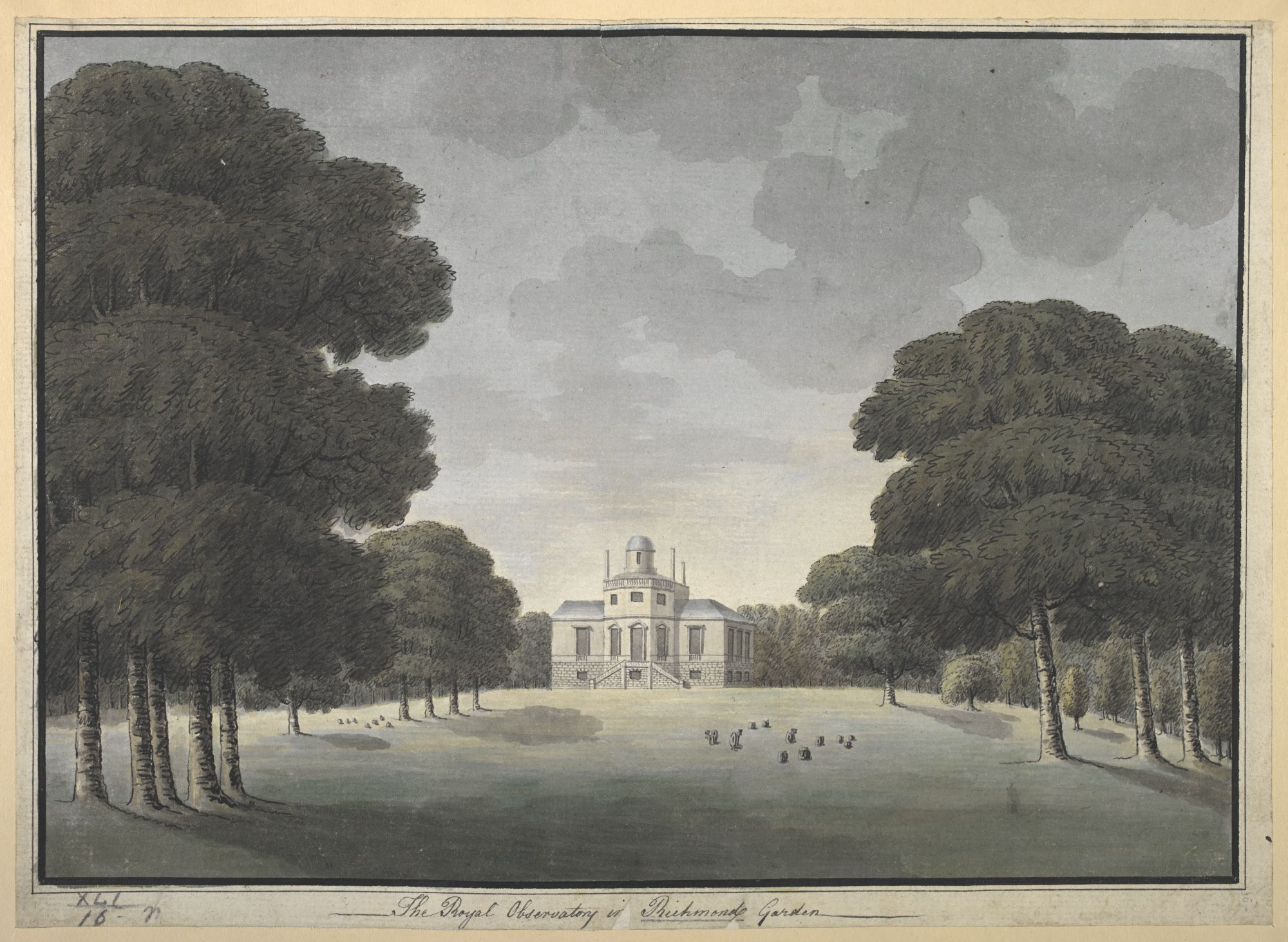 The Royal Observatory in Richmond Garden, by John Spyers.