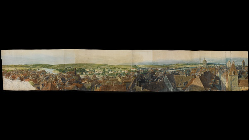 Panorama of Ratisbon