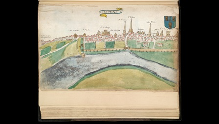 View of Chester, 1585
