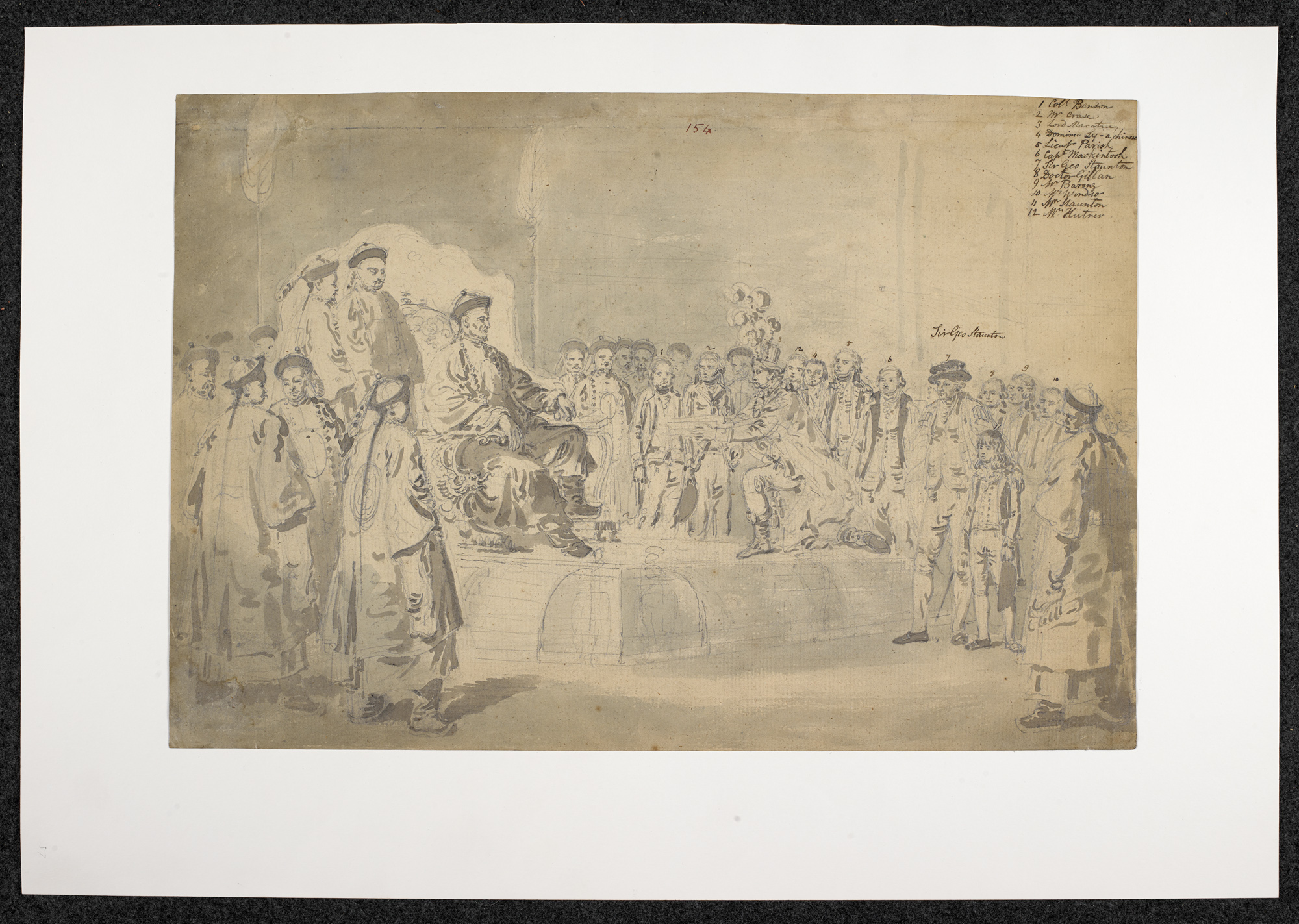 The Emperor of China Receiving the Macartney Embassy