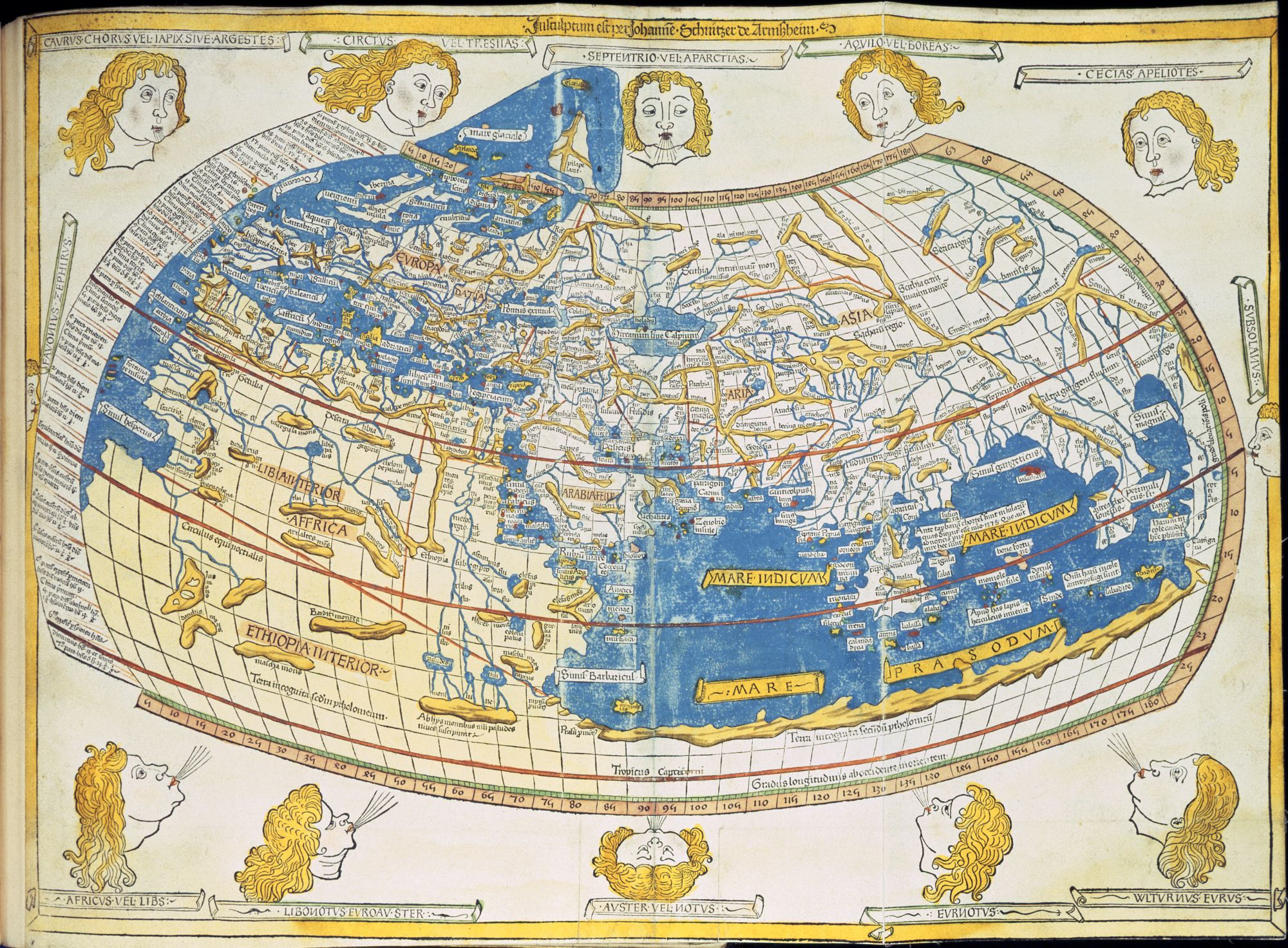 World Map British Library Picturing Places The British Library