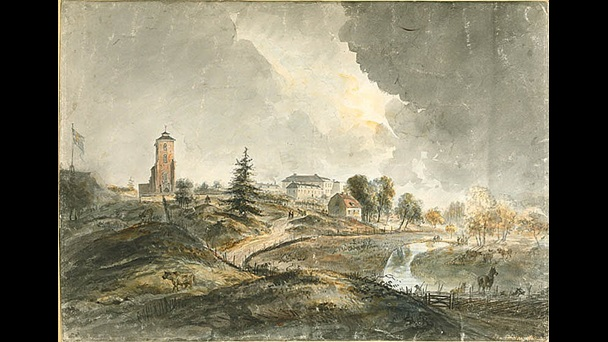 Elias Martin, View of Tyresö, 1780s, pen and watercolour, Nationalmuseum, Stockholm