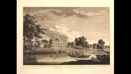 A View of Esher in Surry the Seat of the late Rt. Honble,, Henry Pelham Esqr